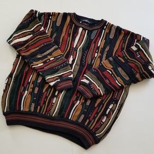 Vintage | 80s/90's Cotton Traders Coogi-Style Crew